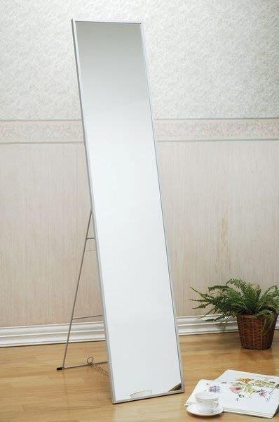 寬33加大精緻鋁框立鏡  穿衣鏡 全身鏡 化妝鏡  【馥葉】【型號KC063F 】促銷