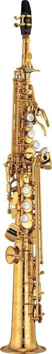 造韻樂器音響- JU-MUSIC - 全新 YAMAHA YSS-875EX 高音薩克斯風 Soprano Sax