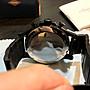 9成新 FOSSIL 時刻三眼不鏽鋼錶 咖啡50mm(JR1356)