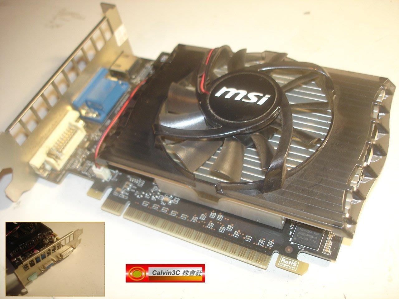 Geforce Gt630 Msi Gt 630 1gb Ddr3 N620gt Md2gd3 2g Hdmi