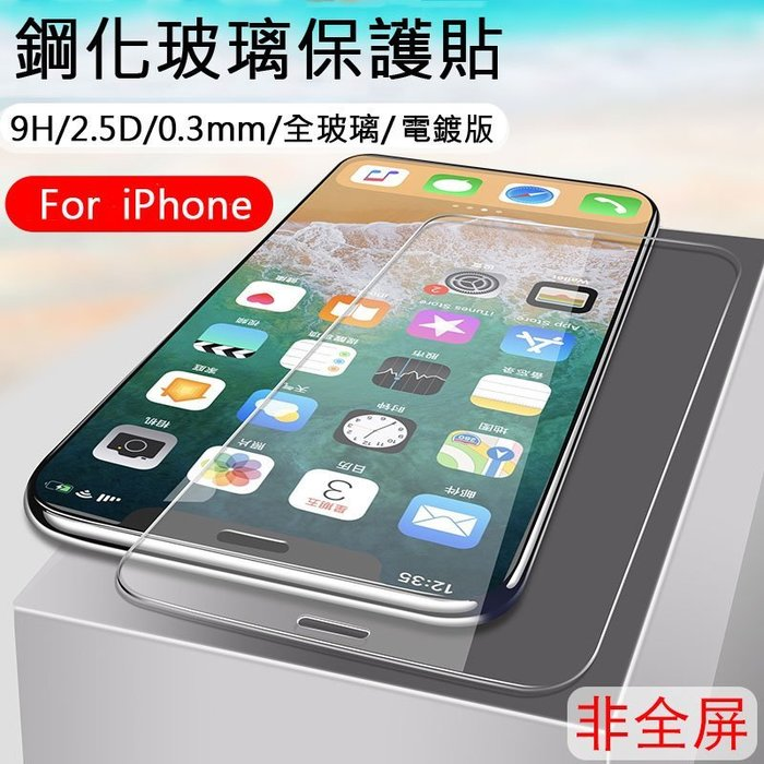 9H鋼化玻璃 APPLE IPhone Xs MAX XR X 8 7 6 6s Plus 5 5s SE 霧面 保護貼