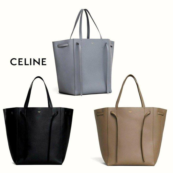 CELINE ►  Cabas phantom / size M /  防刮壓紋 真皮 托特包 手提包 肩背包 |100%全新正品|  特價!