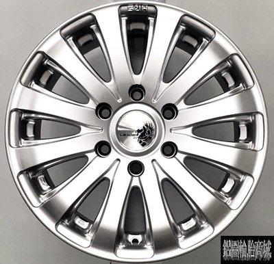 全新鋁圈 H401 16吋 6孔130 6孔139.7 高亮銀 福斯VW-Crafter 大T.吉普車專用 載重圈 LK