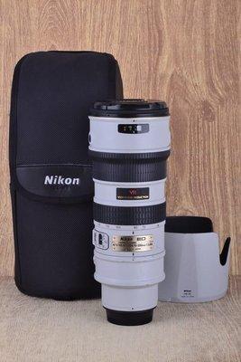 【高雄品光攝影】Nikon AF-S 70-200mm F2.8G ED VR 變焦望遠 小灰五 灰五 #39142J