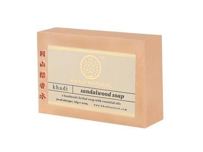 岡山戀香水~印度 Khadi 草本檀香手工精油香皂125g~優惠價:55元