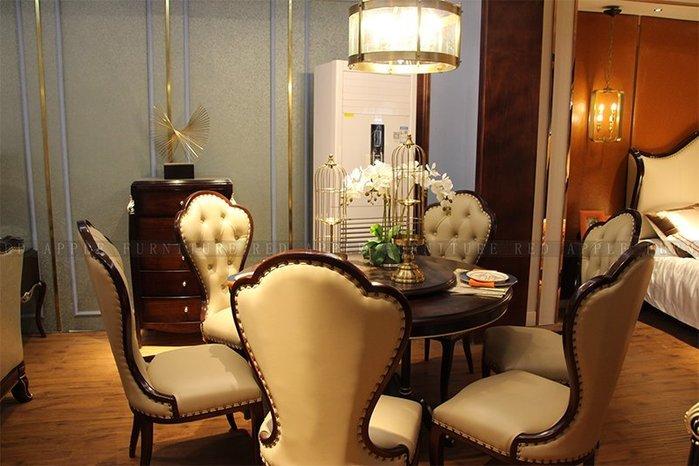 [紅蘋果傢俱] 8602 新古典輕奢系列 餐桌椅 椅子