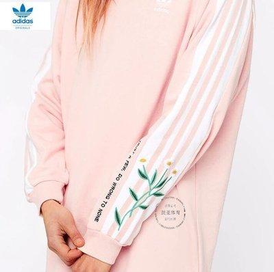 『Fashion❤House』新款愛迪達休閒運動女款唯一長袖T恤長T百搭休閒時尚潮流高領T恤