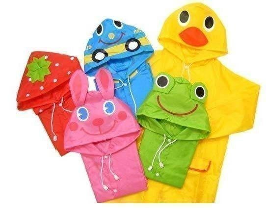 八號倉庫  日單LINDA LINDA可愛動物造型雨衣.共五款造型.100~120cm【2C172C0117】