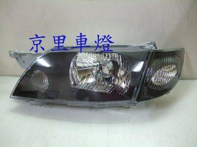 京里車燈專網  MAZDA 馬自達 PREMACY 黑框大燈+黑角燈一組3300元 DEPO製