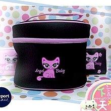 一番街禮物專賣店☆日本帶回☆刺繡貓咪化妝包(單件價)~大空間收納!