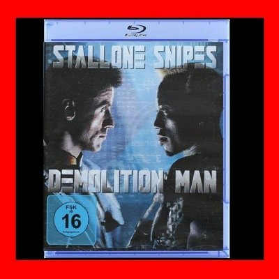 【BD藍光】超級戰警Demolition Man(台灣繁中字幕)洛基十萬火急 第一滴血 藍波 席維斯史特龍