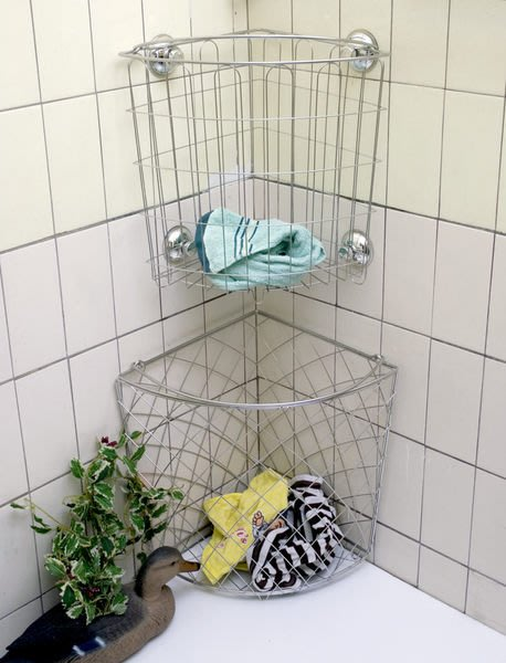 ☆成志金屬☆S-92-1A高品級不鏽鋼洗衣籃,用料堅持材料實在耐用持久可使用強力吸盤壁掛