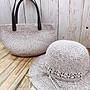 【綺妹手創雜貨】蘇菲亞SOFT FEATHER TIPSY S958 微薰紙線 編織帽 編織包