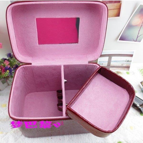 5Cgo【鴿樓】會員有優惠 16911060969  韓國超大容量化妝包 化妝箱 首飾盒 收納箱 定型包手提女包