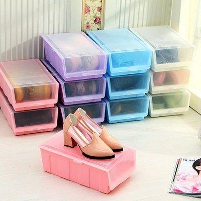 Lovus-彩色多功能翻蓋收納盒 鞋盒 置物盒