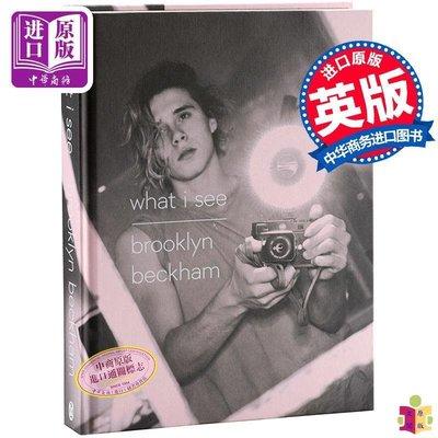[文閲原版]【現貨】布魯克林貝克漢姆書 what i see 我所看見的 英文原版 大布首本個人攝影集 鏡頭下的世界 Brooklyn Beckham 碧咸