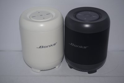 黑/白色-無線藍牙喇叭 1200MA / Black/White-Bluetooth Speaker 1200MA