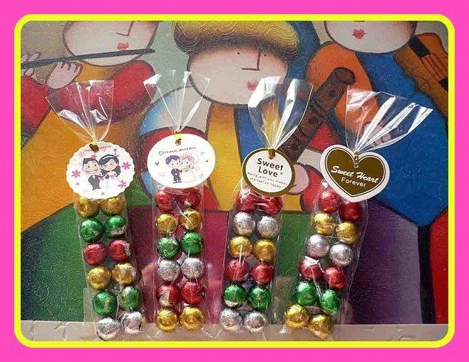 歡樂甜蜜巧克力100串800元二次進場/婚禮小物/聖誕節/情人節/生日禮物/幼稚園畢業/工商開幕/周年慶贈品