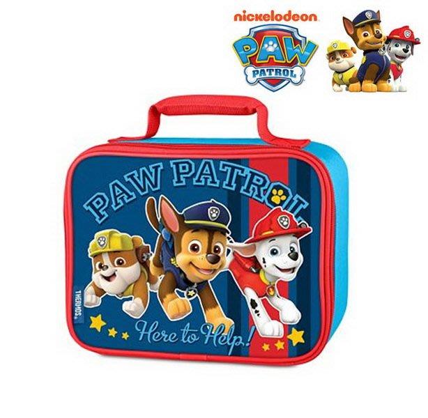 出口歐美Paw Patrol汪汪隊立大功藍底黃星星款午餐袋/便當袋(3歲以上適用)官網同步~