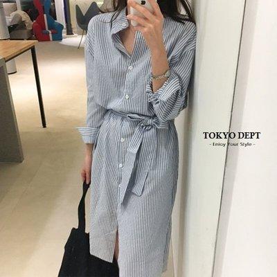 TOKYO DEPT【F8868】韓氣質長版襯衫.長袖洋裝小洋裝小禮服洋裝韓雪紡洋裝露肩伴娘連身裙禮服絲