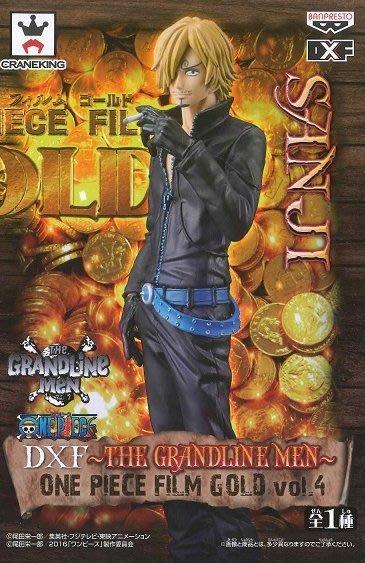 日本正版景品海賊王航海王DXF THE GRANDLINE MEN FILM GOLD vol.4 香吉士 公仔日本代購