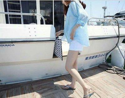 【現貨】女款棉麻爆款防曬上衣