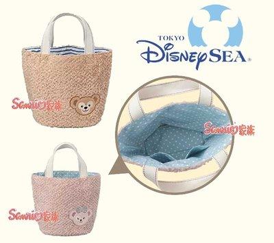 《東京家族》東京迪士尼樂園限定DUFFY達菲熊 雪莉玫 手提袋 手提包 購物袋 2選1 現貨