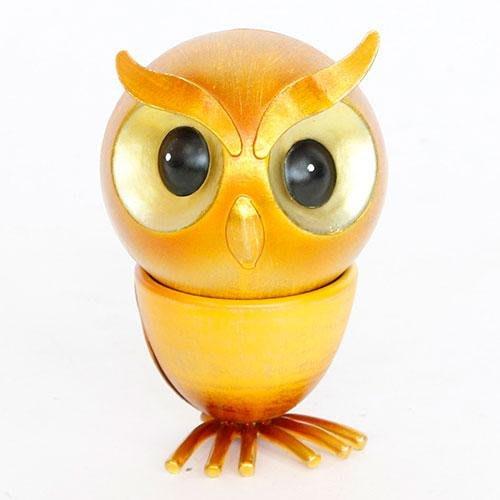 鑄鐵轉頭金色貓頭鷹擺飾,可自由選轉頭部的角度~最特別的禮物都在奧爾思~