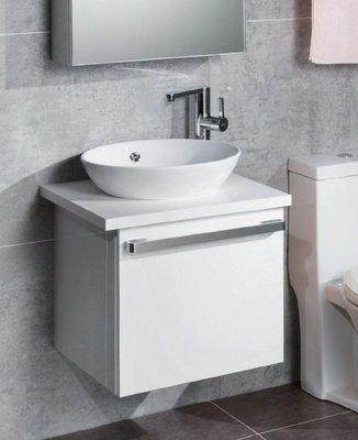 《振勝網》詢問再優惠 ! Corins 柯林斯 51cm HI-50 碗公盆檯面浴櫃組 / 出水芙蓉 / 100%防水