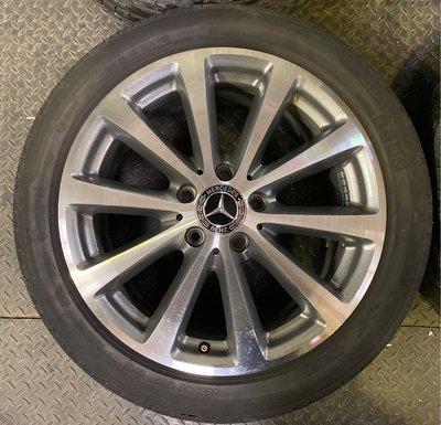 賓士W213 E Class原廠17吋鋁圈含胎