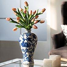 〖洋碼頭〗新中式仿古手繪青花陶瓷花瓶客廳插花藝電視櫃花器裝飾品 shx573