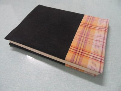 大熊-文創手作文青牛仔雙色書衣 書套 書本尺寸長21*寬14.5*2公分調整式