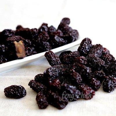 ~黑棗 烏棗 紫晶棗(一斤裝)~ 屬於長黑棗,可直接吃,也可用於泡茶、料理、藥膳、甜品、浸酒。【豐產香菇行】