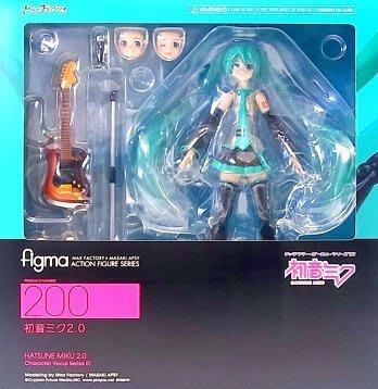日本正版 figma Character Vocal 01 MIKU 初音未來 2.0 可動 公仔 模型 日本代購