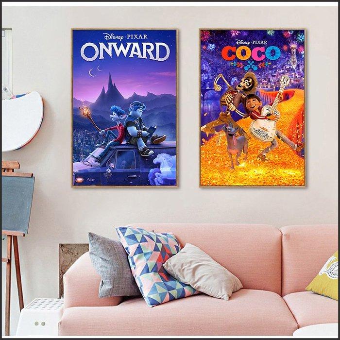 可可夜總會 COCO 1/2的魔法 電影海報 藝術微噴 掛畫 嵌框畫 @Movie PoP 賣場多款海報~