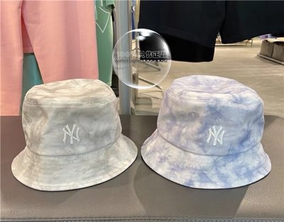 21 新款 大理石花紋 和LV同款 漁夫帽 全新正品 韓國MLB 札染 紐約洋基 漁夫帽 今年必備單品 DIOR 漁夫帽
