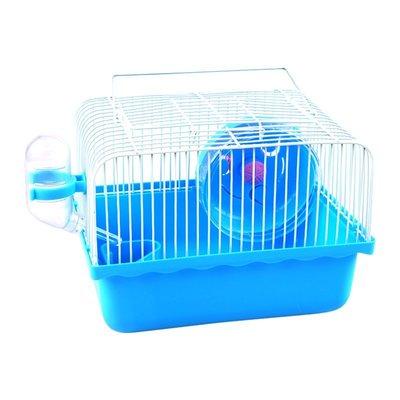 【現價特惠】倉鼠籠 寵物籠 倉鼠窩 兔子籠可拆洗小田園風倉鼠籠子金絲熊窩別墅雙層倉鼠用品基礎