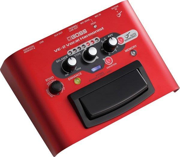 《民風樂府》Roland VE-2 錄音室等級人聲合音效果器