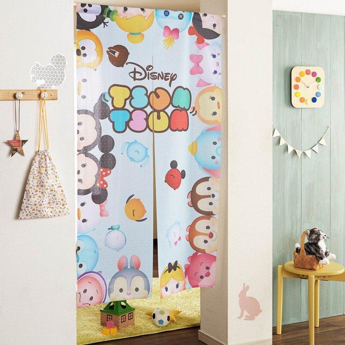 迪士尼Disney《預購》笑臉TSUM TSUM門簾 簾子~日本正品~150X85cm~心心小舖