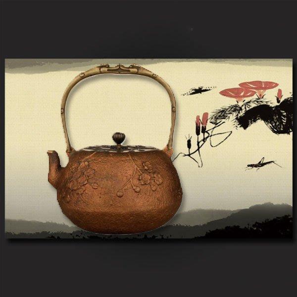 5Cgo【茗道】含稅會員有優惠  44249947680 鑄銅壺燒水紫銅壺煮茶壺燒水壺大容量加厚款茶壺電陶爐配件老銅壺