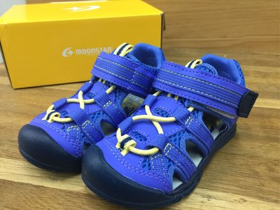 moonSTAR  Carrot中童機能護趾涼鞋SGC5125