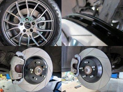 HHC BRAKES Mazda 馬自達  Premacy 專用 單片 前加大碟盤 286mm