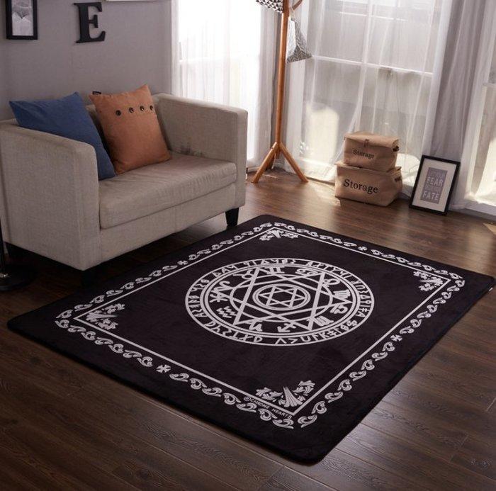 大牌系列地毯法蘭絨地墊瑜伽墊遊戲墊兒童秋冬季爬爬墊飄窗墊