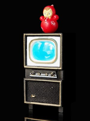 2FB-3 現狀品 : 散售 NOSTALGIC 昭和電視 SHOWA TELEVISION 富貴玩具店
