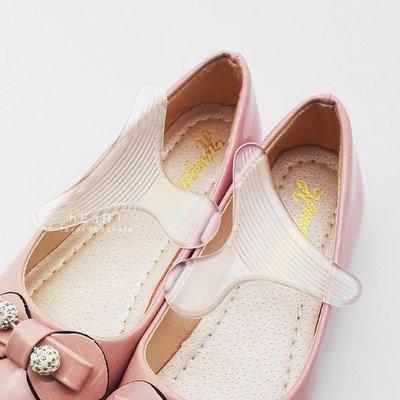 【可愛村】T型防磨腳透明後跟貼 一雙入 後跟貼 鞋墊