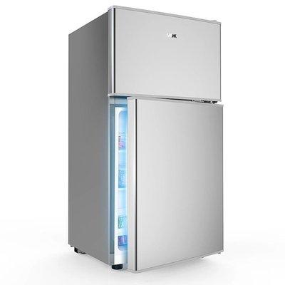{優上百貨}韓上 BCD-106YH小冰箱雙門家用節能宿舍小型冷藏冷凍雙開門電冰箱-21924