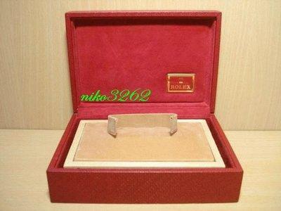 :: NiKo HoUsE ::【ROLEX 勞力士】原廠中型錶盒 / 紅色(2)