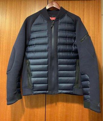Nike tech fleece aeroloft bomber 羽絨 運動外套 科技棉 s號 深藍 棒球外套 飛行外套