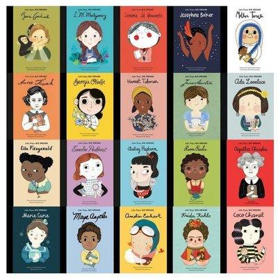 全新 現貨 Little People Big Dream 小人物大夢想 精裝繪本 全套20本含運