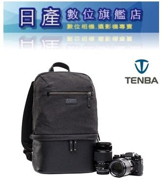 【日產旗艦】天霸 Tenba Cooper 637-407 酷拍 窄版 單眼相機後背包 帆布包 相機雙肩後背包 皮革包